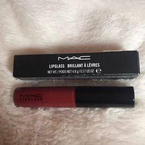 Mac lipglass viva glam l new in box